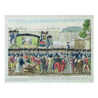 Return of the French Royal Family to Paris Postcard