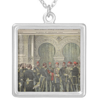 Return of the Grand Cordon of the Legion Silver Plated Necklace