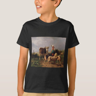 Return of the Herd by Constant Troyon T-Shirt