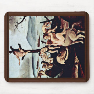 Return Of The Hunt Detail By Piero Di Cosimo Mouse Pad