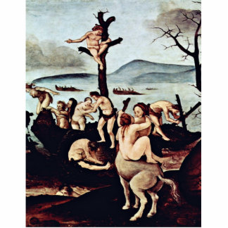 Return Of The Hunt Detail By Piero Di Cosimo Photo Sculptures