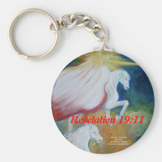 Return of the King Basic Round Button Keychain