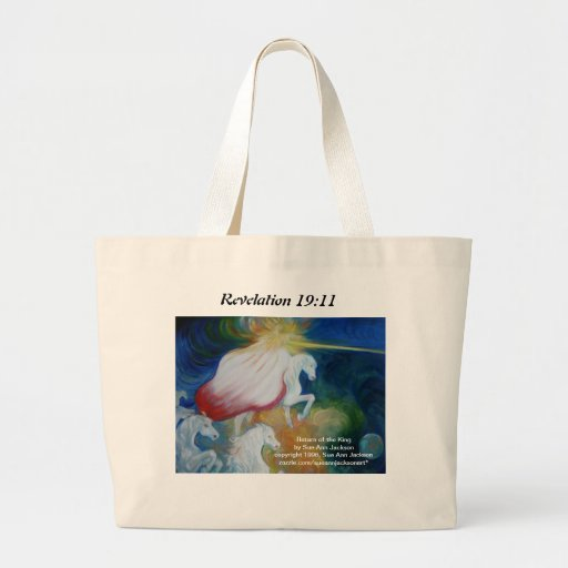 Return of the King Canvas Bags