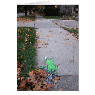 return of the lazy leaf-raker card