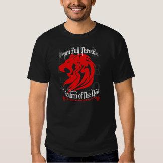 Return of the Lion Kelly Leo T-shirt