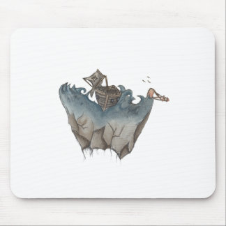 Return of The Lucky Tiger Mouse Pad