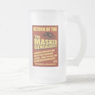 Return Of The Masked Genealogist Coffee Mug