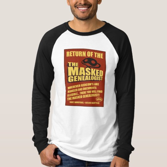 Return of The Masked Genealogist T-Shirt