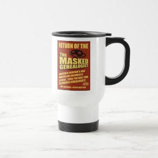 Return Of The Masked Genealogist Travel Mug