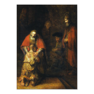 Return of the Prodigal Son by Rembrandt Card