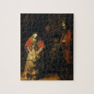 Return of the Prodigal Son by Rembrandt Jigsaw Puzzle
