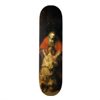 Return of the Prodigal Son by Rembrandt Skateboard Deck