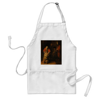 Return of the Prodigal Son by Rembrandt van Rijn Adult Apron