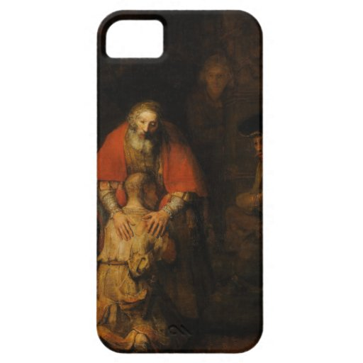 Return of the Prodigal Son by Rembrandt van Rijn iPhone 5 Covers