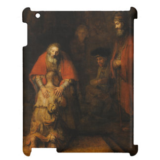 Return of the Prodigal Son by Rembrandt van Rijn iPad Case