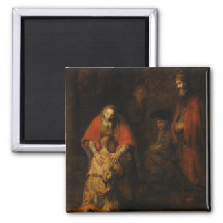 Return of the Prodigal Son by Rembrandt van Rijn Refrigerator Magnet