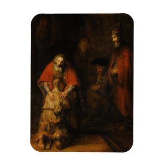 Return of the Prodigal Son by Rembrandt van Rijn Flexible Magnets