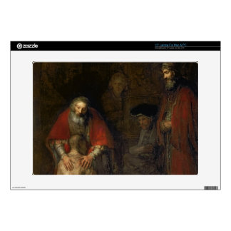 """Return of the Prodigal Son, c.1668-69 15"""" Laptop Decal"""