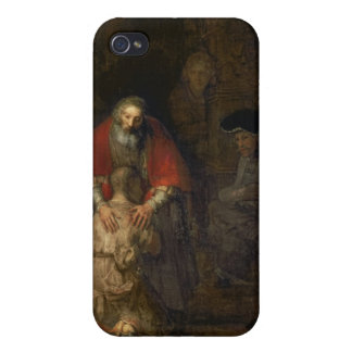 Return of the Prodigal Son, c.1668-69 Cases For iPhone 4