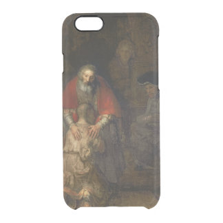 Return of the Prodigal Son, c.1668-69 Clear iPhone 6/6S Case