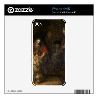 Return of the Prodigal Son, c.1668-69 iPhone 4 Decal