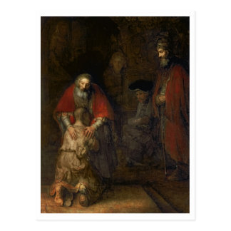 Return of the Prodigal Son, c.1668-69 Postcard