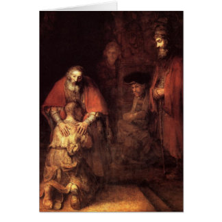 Return of the Prodigal Son-Companion Greeting Card