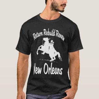 Return, Rebuild, Renew, New Orleans  Jackson T-Shirt