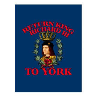 Return Richard the Third to York Postcards