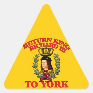 Return Richard the Third to York Triangle Sticker