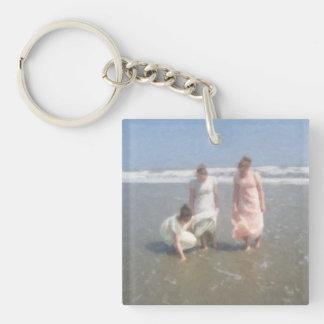 Return to Innocence Girls on the beach Keychain