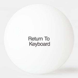 Return To Keyboard Ping-Pong Ball