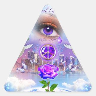 Return to Paradise Triangle Sticker