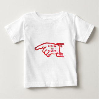 Return To Sender Baby T-Shirt