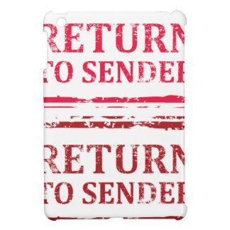 Return To Sender Grunge Stamp iPad Mini Cases