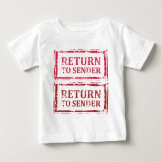 Return To Sender Grunge Stamp Shirt