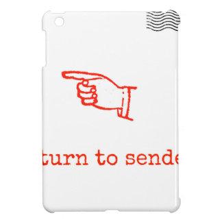 Return to Sender iPad Mini Cover