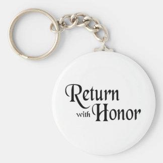 Return With Honor Keychain