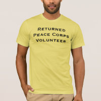 Returned Peace Corps Volunteer T-Shirt