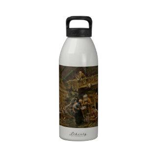 Returning From Battle of Stiklestad Reusable Water Bottle
