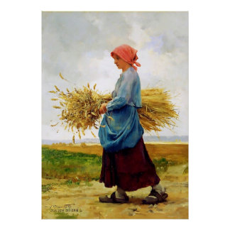 Returning from the Fields ~ Julien Dupré Posters