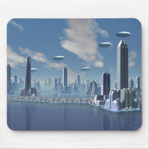 Returning Home Scifi Mouspad Mouse Pad
