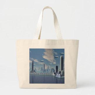 Returning Home Scifi Tote Bag