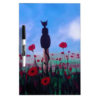 Returning to the Poppies Dry-Erase Board
