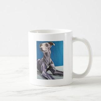 'Reuben Bluedog' - lurcher Coffee Mug