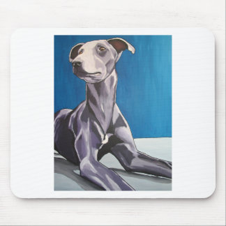 'Reuben Bluedog' - lurcher Mouse Pad