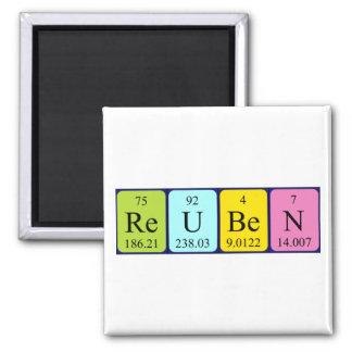 Reuben periodic table name magnet