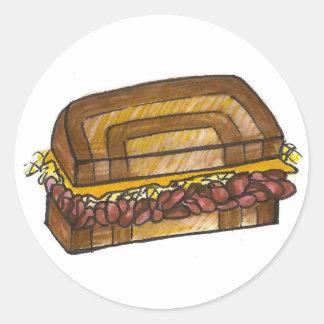 Reuben Sandwich Stickers