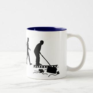 Reúna los regalos del individuo de la piscina del taza de café de dos colores