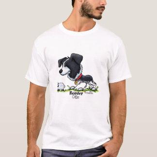 Reuniendo el perro - border collie playera